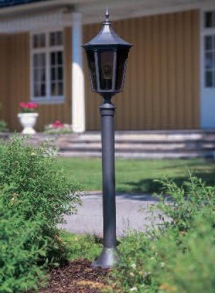 Cardinal bedlampe klassisk udendørsbelysning