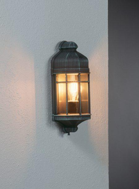 Capri mini væglampe klassisk udendørsbelysning