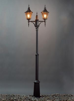 Regent stolpelampe klassisk udendørsbelysning