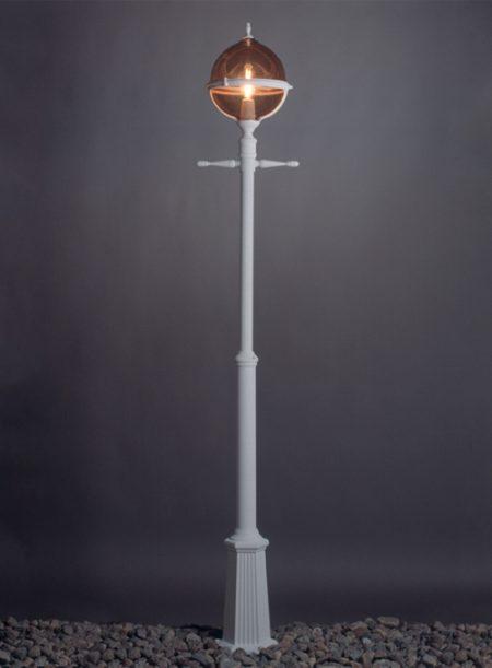 Roulette stolpelampe klassisk udendørslampe