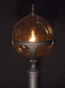 Roulette bedlampe klassisk udendørslampe