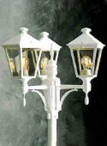 Torino stolpelampe klassisk udendørslampe