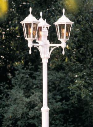 Allegro stolpelampe klassisk udendørslampe