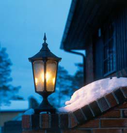 Cardinal havelampe klassisk udendørsbelysning