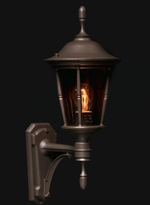 Princess væglampe klassisk udendørslampe