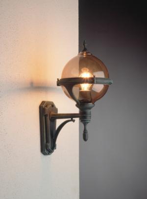 Roulette væglampe klassisk udendørsbelysning